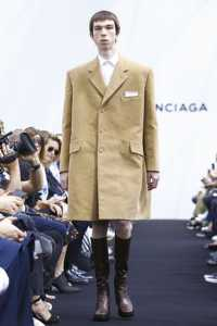 Balenciaga, Fashion Show, Mens Wear Collection Spring Summer 2017 in Paris